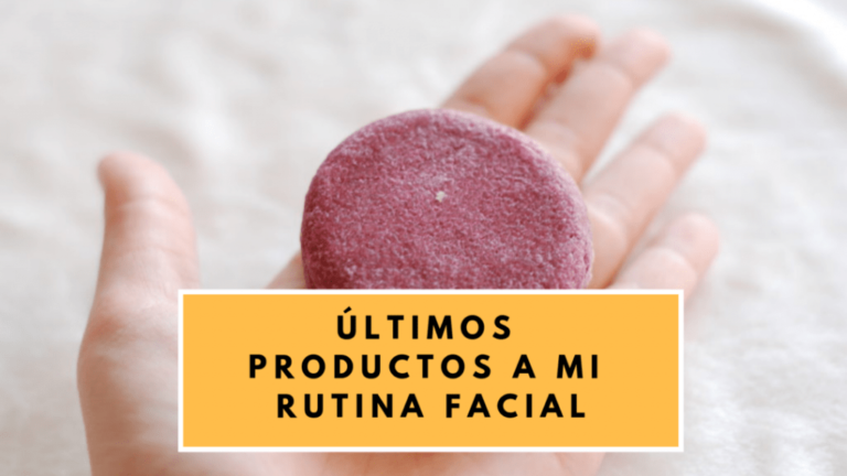 productos rutina facial